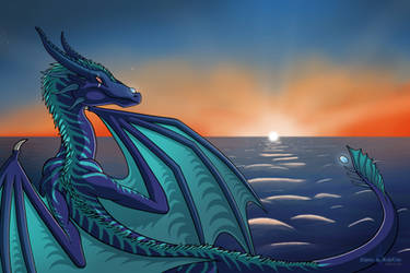 Reithya at Sea by Shade-the-AshClad