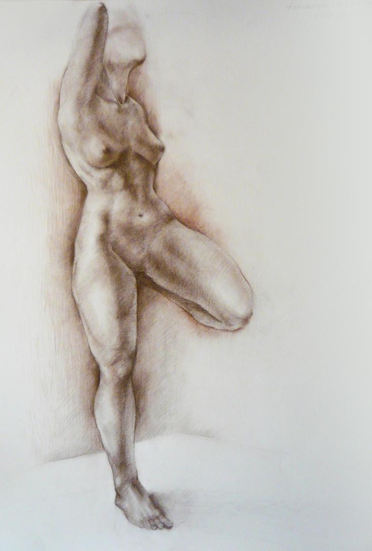 Female figure by wAnnw