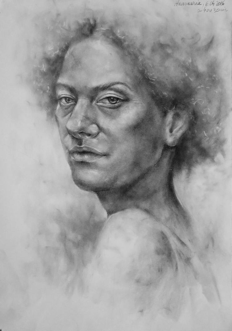 Portrait study by wAnnw