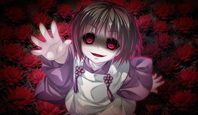 Creepy Anime Girl Wallpaper By Darks