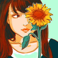Sunflower by Aquarism