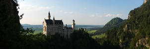 Neuschwanstein Castle by Tobias-Kilian