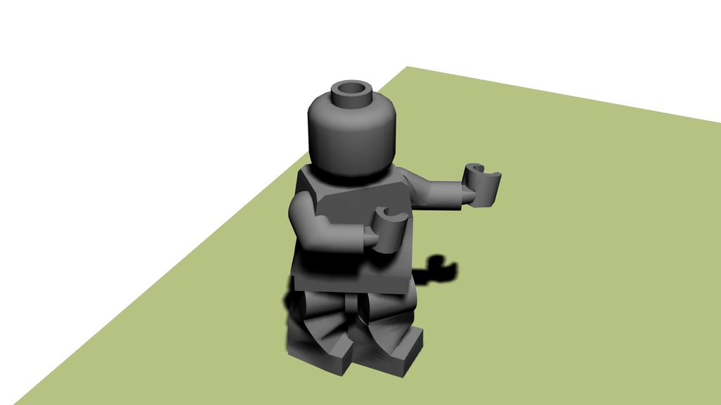 Rigged, skinned and animated 3D Lego Minifigure by Masterxilo on ...