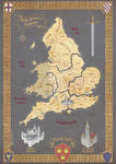 British Isles Map Trio 1 - King Arthur's England