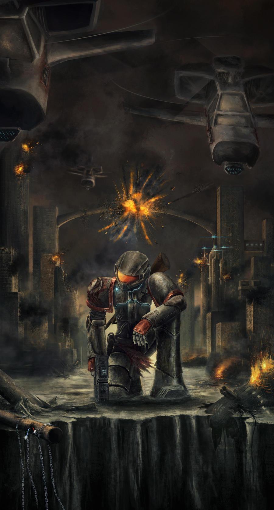 Hope, Ablaze by paultree