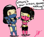 Kitana and Mileena request