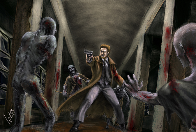 The House of the Dead by Aellise