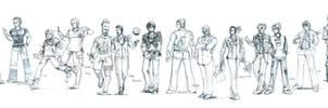 TEKKEN Men's Fashion Show Pt 1 by atALLGIRL