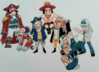 One Piece Capricorns Clash Party 2