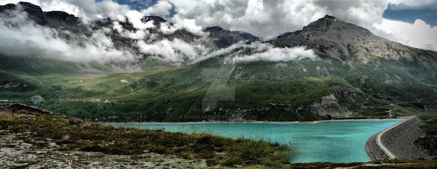 lacul mont cenis by rovoyager