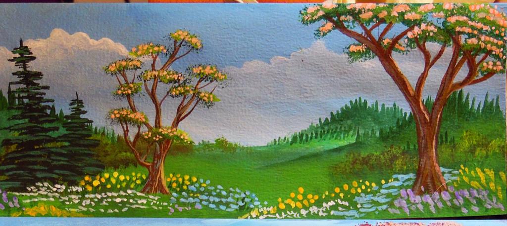 spring in the hills by gracejediheart on deviantart