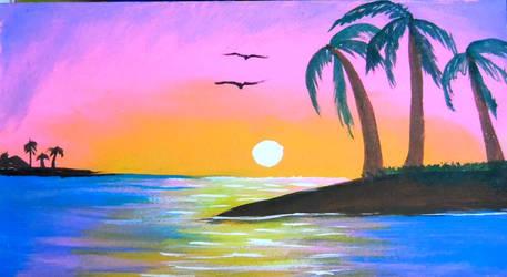 Tropical Dreams by GraceJediHeart