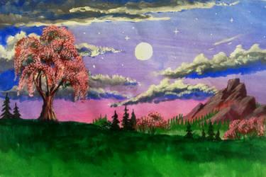 Warm May Evening by GraceJediHeart