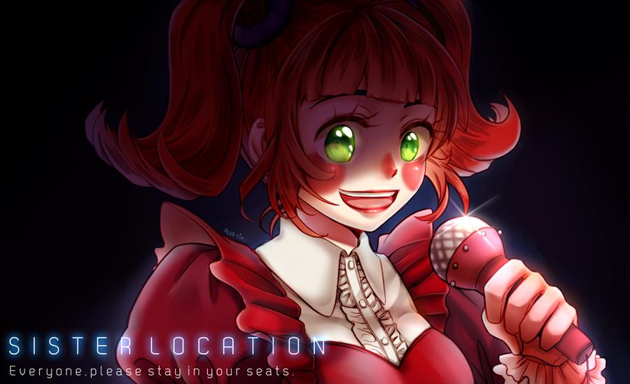 FNAF Sister Location : Baby by reua-yim