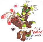 ARTjam: 'Fuzzy VooDoo Chibi'