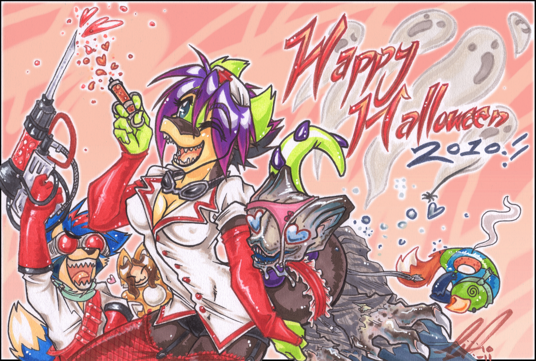 Happi Halloween- 2010 by carnival