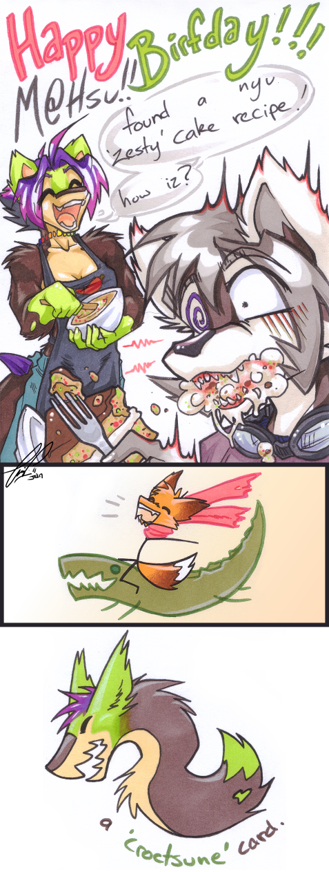 DELICIOUS CAKE? by carnival