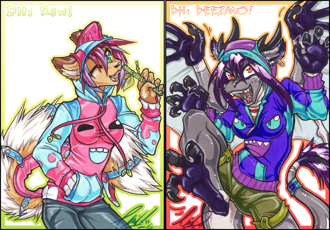 DH: Round3 Rewsaurus + Deezcus by carnival