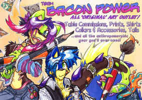 Poster: Team Bacon Powah by carnival