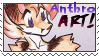 Stamp: Anthro ART! -foux by carnival