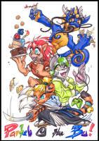COM: Parteh @ tha BU! by carnival