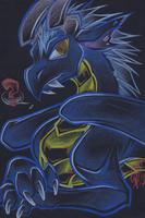 Blue Dwaggin by carnival