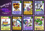 RoomParty: First Custom Cards!