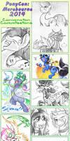 PonyCon AU 2014: Table Comz! by carnival