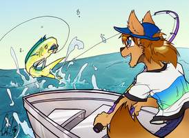 COM: Big Catch! by carnival