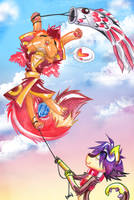 Fly High on a Friendship Kite! by carnival