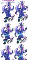 COM: 'Evolving' Deluxe Con-Badge for Koth!