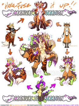 HEXAFUSION: Whatta Croc' of Foxes!