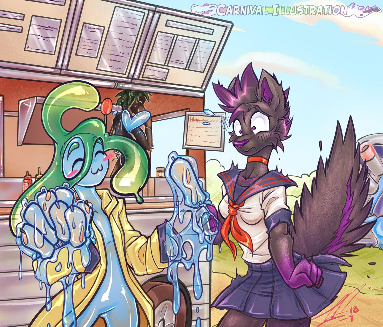 COM: Suu's SlimeDawg Gift by carnival