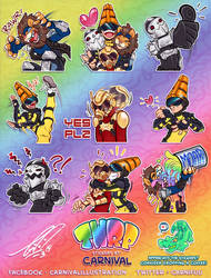 TWRP Telegram Stickers! (free use!) by carnival