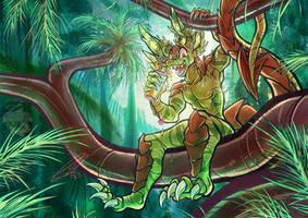COM: Deep Tropical Jungle by carnival