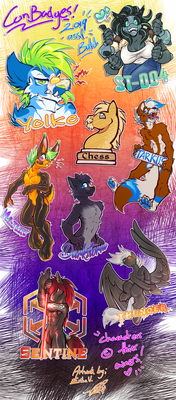 Com: 2019 Assorted Badges!