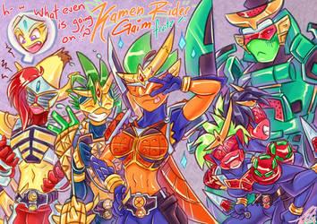 COM: Kamen Rider Gaim: Double Fruits!