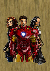 Iron Man 2 by Fikus by dartbaston
