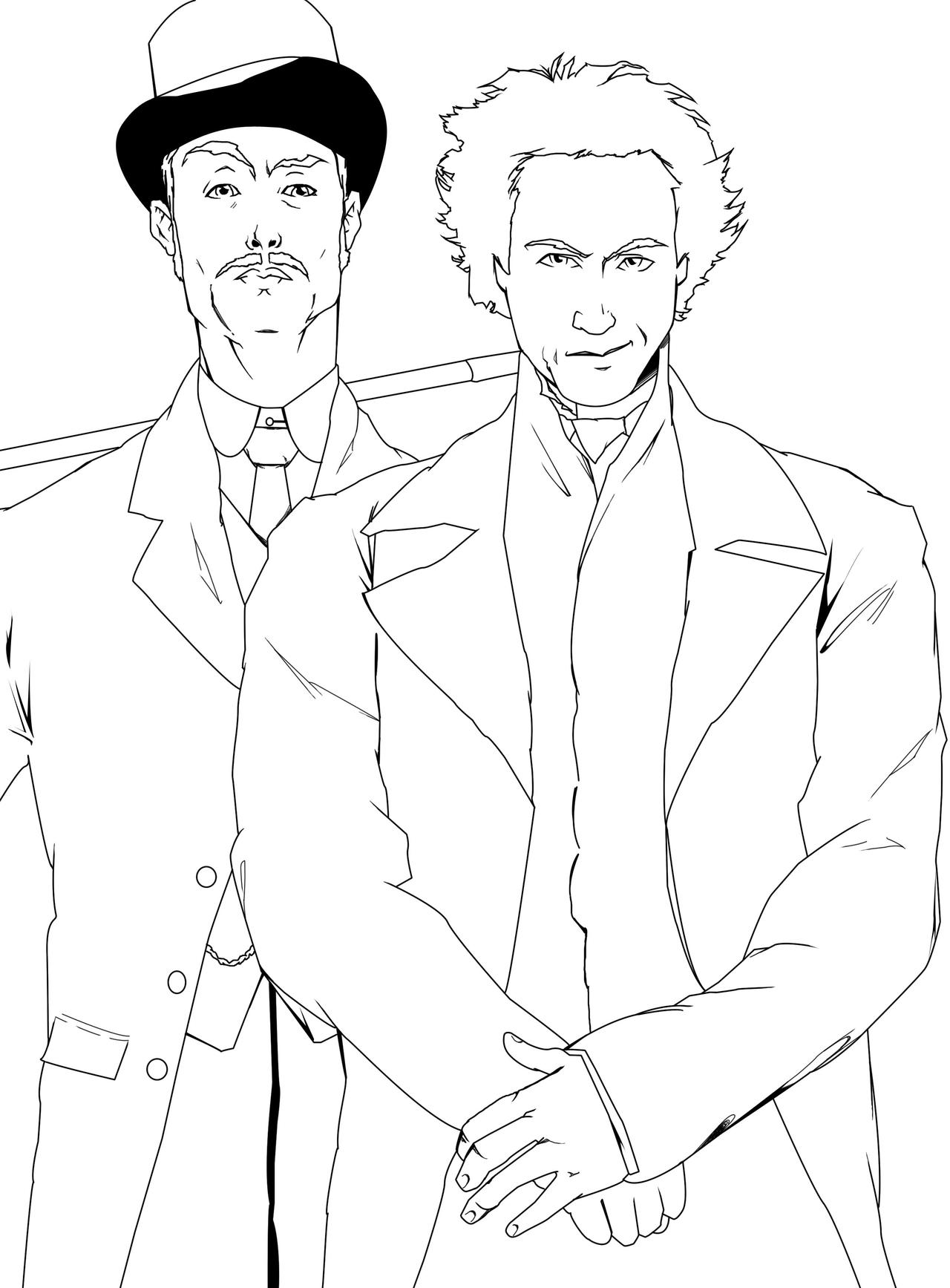sherlock 2010 coloring pages - photo#6