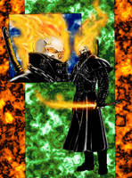New Ghost Rider colors by dartbaston
