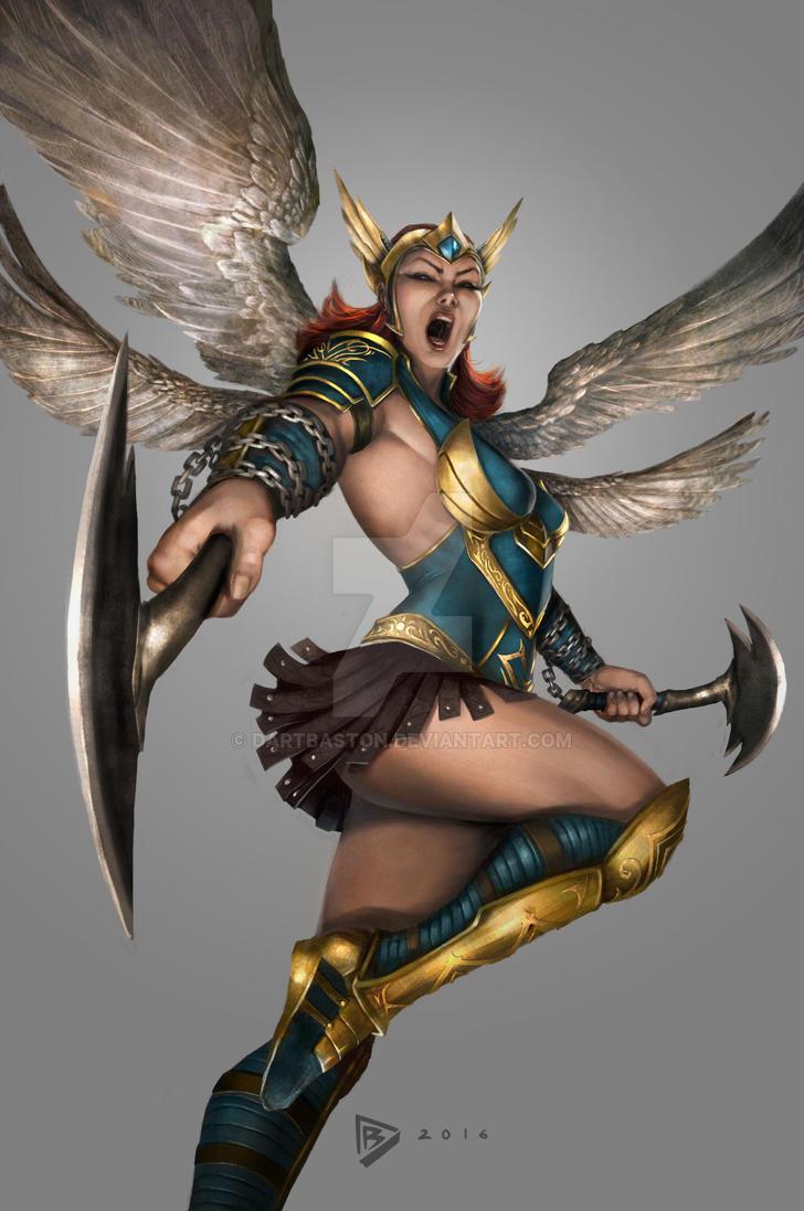 Fallen Angel Concept by dartbaston