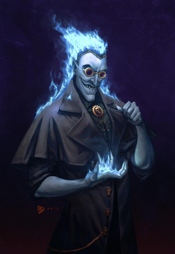 Hades (steampunk) by dartbaston