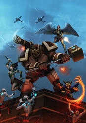 Guardians of Umbra (game cover alt.) by dartbaston