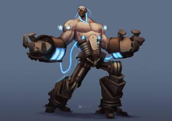 Brute Enforcer concept by dartbaston