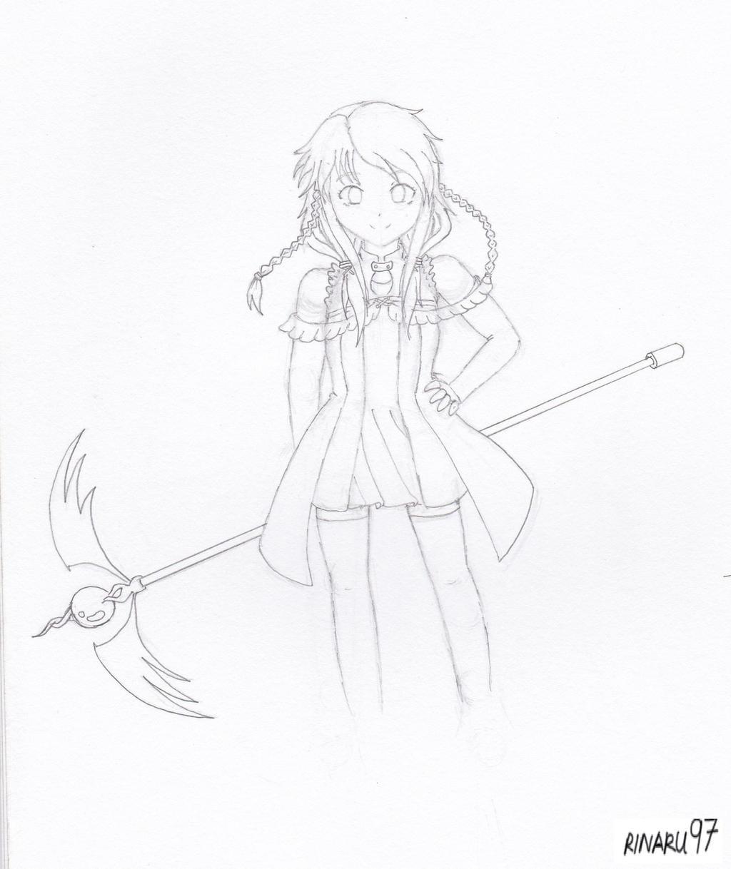 Anime Magician Drawing