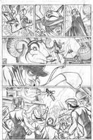 Frank Miller Spirit page 3 by adampedrone8