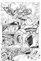 Ultimate Spiderman page 3 by adampedrone8