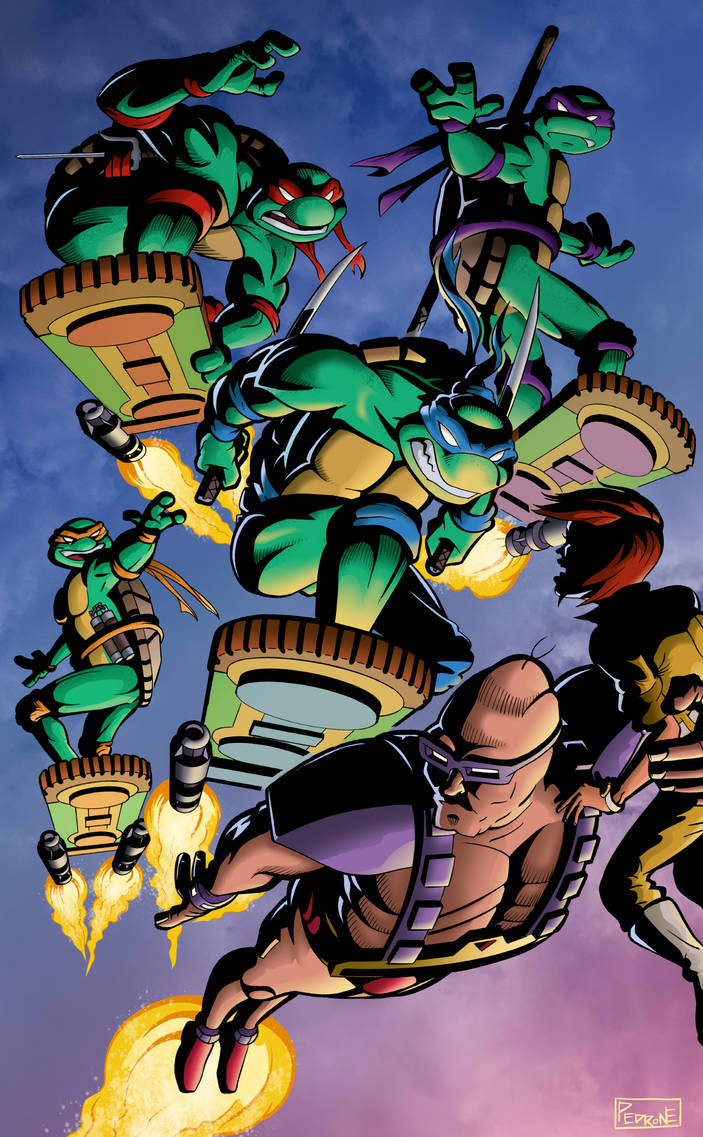Teenage Mutant Ninja Turtles by adampedrone8