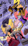 Wonder Woman/Cheetah Mall Fight