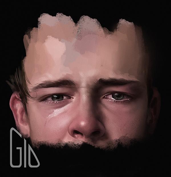 a sad story by GioPinna